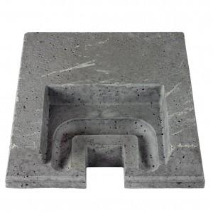 Keramikroster, Bakre