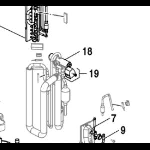 018C. 4-vägs ventil  till Nordic Inverter & Bosch Compress 5000/7000
