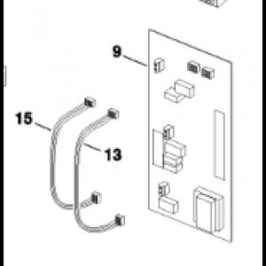 009B. AHB utan nöddrift I/O-kort SP