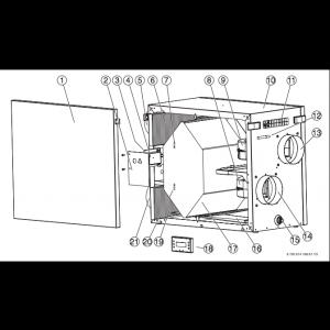 Filterset F5 IVT HRV 400