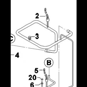 003C. Scrader ventil u rör 922Bx3