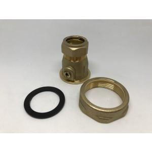 """029C. Avstängningsventil 22 mm  11/2"""" 6204000"""