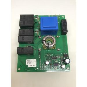 Kretskort mjukstart kondensatorer på undersida 0602-0744