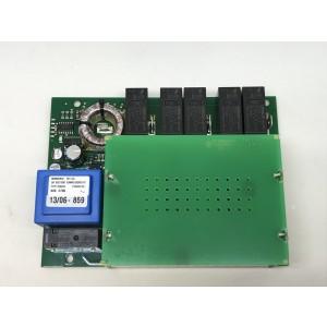 Kretskort mjukstart kondensatorer på översida 0744-