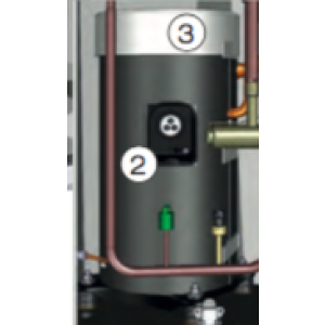 Isol kompressor mantel BEH