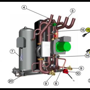 Kabel Kompressor 4G1.5 L=220