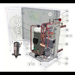 Kompressorsats AEE33FPAMT